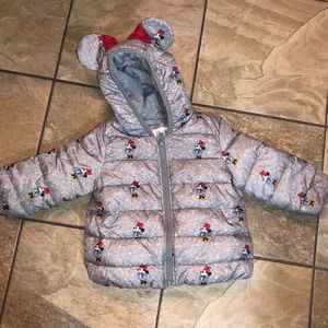 Babygap 18-24m Disney Minnie Mouse Coat
